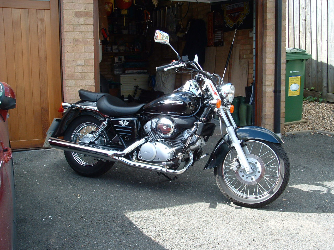 Spire Transport Motorbike Delivery Photo Gallery